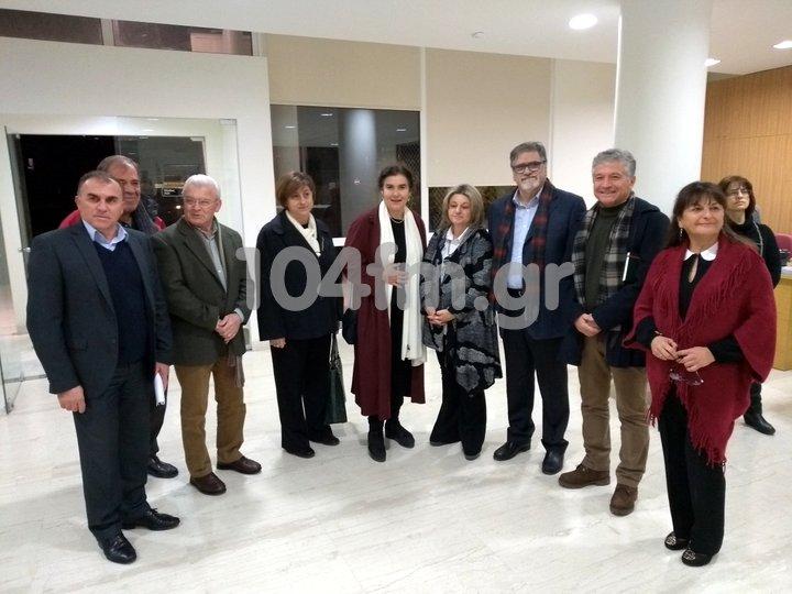 Η Υπουργός Πολιτισμού στο μουσείο Αγίου Νικολάου