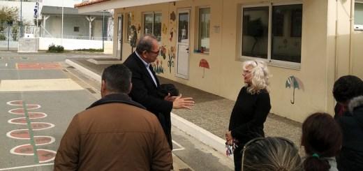 Ο υποψήφιος δήμαρχος Νίκος Κοκκίνης σε Βραχάσι και Σίσι