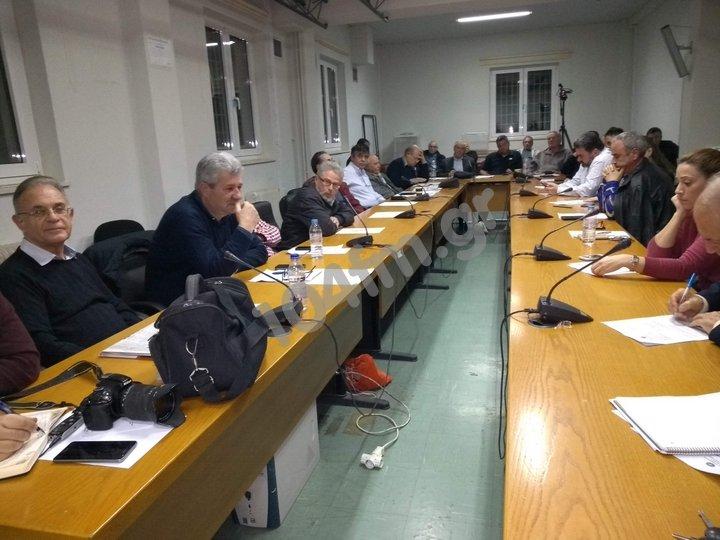 Δημοτικό Συμβούλιο Αγίου Νικολάου, συνεδρίαση 13 Μαρτίου 2019