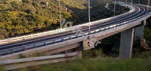 επιτέλους σε κυκλοφορία η γέφυρα στο Χαμέζι