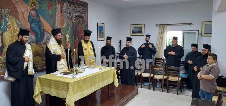 Αγιασμός για τις σχολές Βυζαντινής μουσικής, Αγιογραφίας, ξυλόγλυπτου