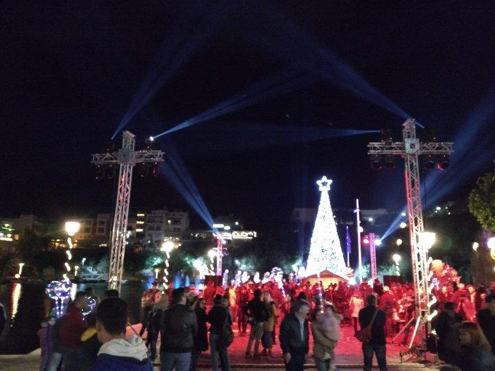 Έναρξη Χριστουγεννιάτικων εκδηλώσεων στον Άγιο Νικόλαο