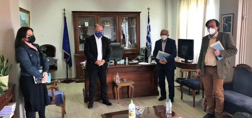 Συνάντηση Αντιπεριφερειάρχη Λασιθίου - ΣΥΡΙΖΑ