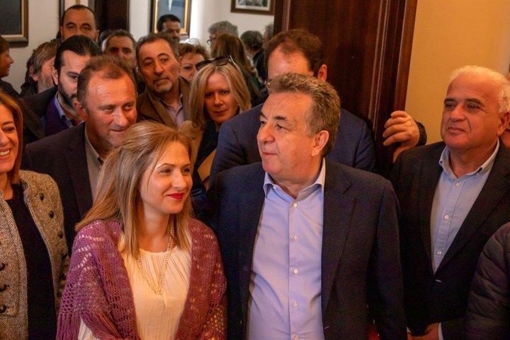 Αποκεντρωμένη Διοίκηση Κρήτης, ευχαριστήριο για την εκδήλωση κοπής της Βασιλόπιτας