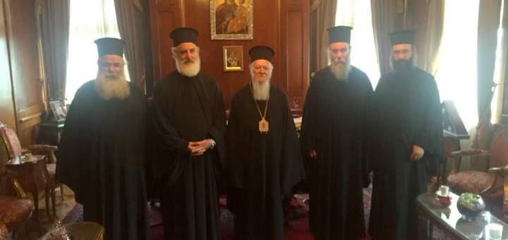 Αντιπροσωπεία της Εκκλησίας Κρήτης στο Φανάρι