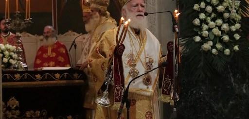 αρχιεπίσκοπος Ειρηναίος 10 χρόνια διακονία
