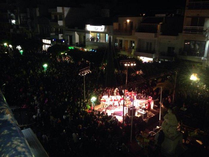 η εκδήλωση στο κέντρο της Ιεράπετρας