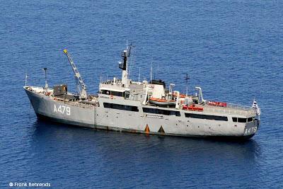 "To πλοίο φαρικών αποστολών του πολεμικού Ναυτικού με αριθμό Α-479, φέρει το όνομα ""Καραβόγιαννος""."