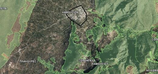 Δασικοί Χάρτες Νομού Λασιθίου και Κοινότητα Καβουσίου