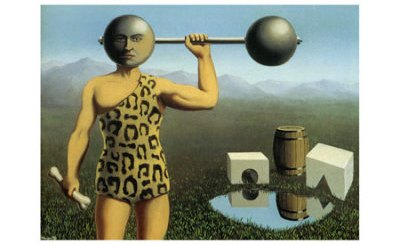 Rene Magritte: Le Mouvement Perpetuel, (Η συνεχής κίνηση), 1935.