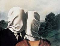 René Magritte 1928, Les Amants, οι εραστές
