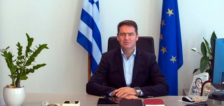 ο Δήμαρχος Χερσονήσου, αντιπρόεδρος της Επιτροπής Περιβάλλοντος της Κεντρικής Ένωσης Δήμων Ελλάδας