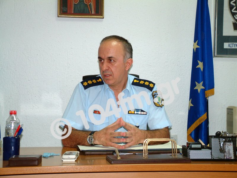 ο πρώην αστυνομικός διευθυντής Λασιθίου Φανούρης Μανιαδάκης