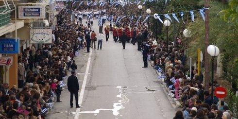 ο οδός Ρούσου Καπετανάκη, είχε την τιμητική της για μια μέρα