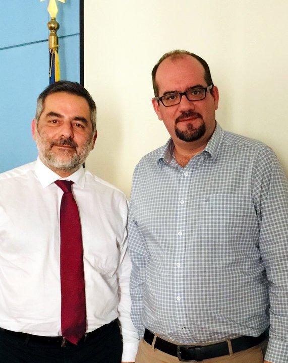 Επαφές του Δημάρχου Οροπεδίου Λασιθίου στα Υπουργεία Εσωτερικών και Παιδείας