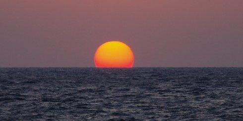 Σίσι ηλιοβασίλεμα