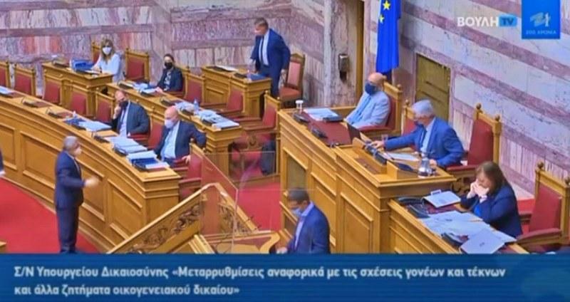 Κατά πλειοψηφία πέρασε το νομοσχέδιο για τη συνεπιμέλεια
