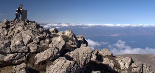 Ανάβαση στην κορυφή Αφέντης στα όρη της Θρυπτής