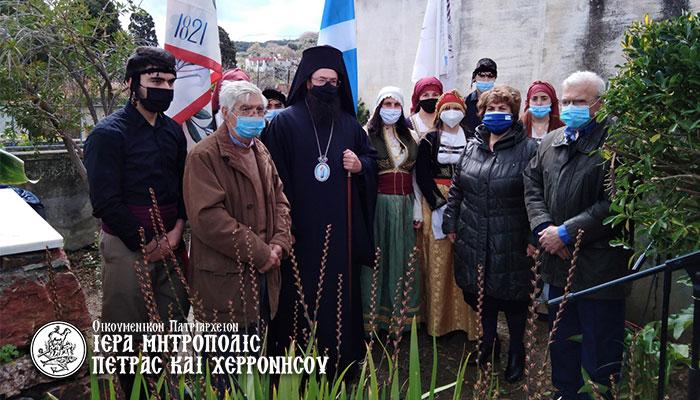 Η πρώτη επετειακή εκδήλωση για τα 200 χρόνια από την Εθνική Παλιγγενεσία στο μνημείο του Αγίου Γεωργίου του «Καταματωμένου»