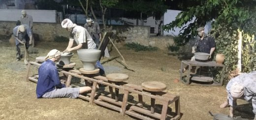 Αυλαία στην μεγάλη γιορτή των αγγειοπλαστών στο Θραψανό