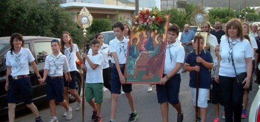 Αγία Τριάδα Λακώνια, ευχαριστήριο