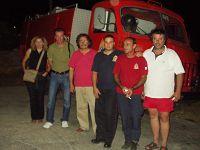 Από την επίσκεψη στην Πυροσβεστική