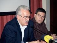 από τη συνάντηση, οι Δ. Ασημακόπουλος και Μ. Φουρνιωτάκης