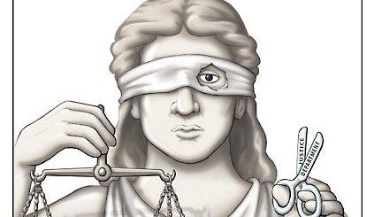 τυφλή δικαιοσύνη