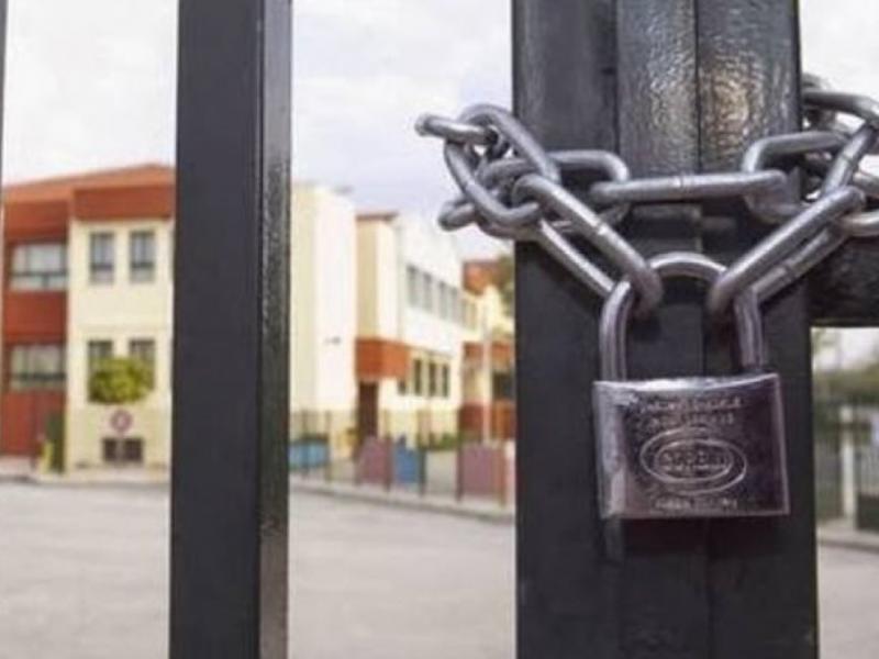 Για δύο εβδομάδες κλειστά όλα τα εκπαιδευτικά ιδρύματα