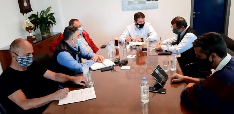 Σύσκεψη με τον ΕΛΓΑ για τις ζημιές στα Μάλια