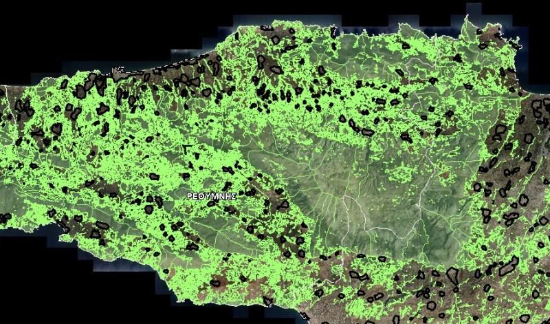 Δασικοί Χάρτες, Δημόσια και Ιδιωτική Περιουσία