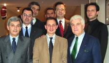 Χατζημαρκάκης και μέλη του DHW