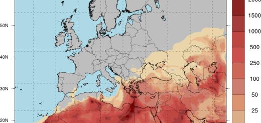 Μεταφορά Αφρικανικής σκόνης και πάλι σε όλη τη Κρήτη