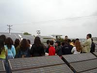 Επίσκεψη μαθητών σε φωτοβολτϊκό πάρκο