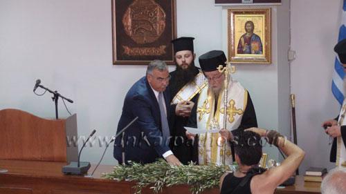 ο νέος δήμαρχος Καρπάθου, Ηλίας Λάμπρος