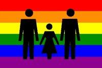 ομόφυλο ζευγάρι με παιδί