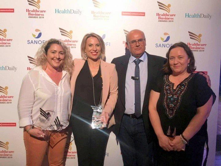 Βράβευση του Γενικού Νοσοκομείου Αγίου Νικολάου στα Healthcare Business  Awards