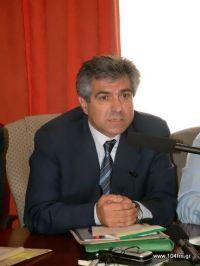 ο υφυπουργός Αγροτικής Ανάπτυξης και Τροφίμων Μιχάλης Καρχιμάκης