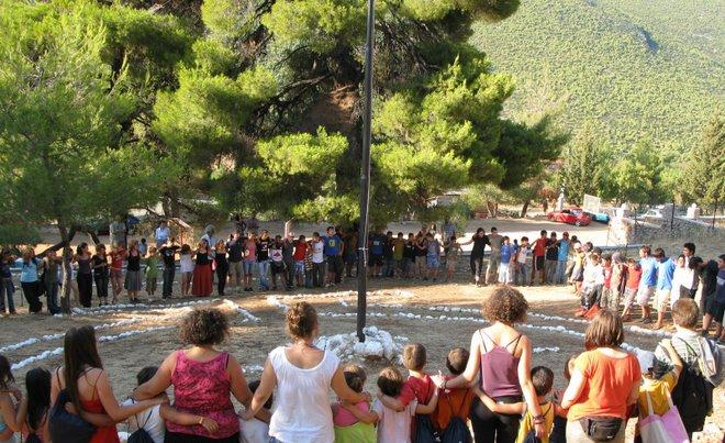 μια παιδική κατασκήνωση κάπου στην Ελλάδα