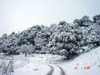 Οροπέδιο Καθαρού, χιονισμένο