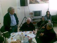 από το γεύμα με τους ηλικιωμένους