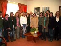 Δήμαρχος με μαθητές