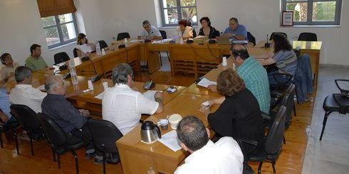 Από την συνεδρίαση του δημοτικού συμβουλίου