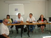 νομάρχης και προεδρείο νομαρχιακού συμβουλίου Λασιθίου