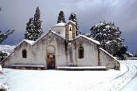 Παναγία Κερά....χιονισμένη