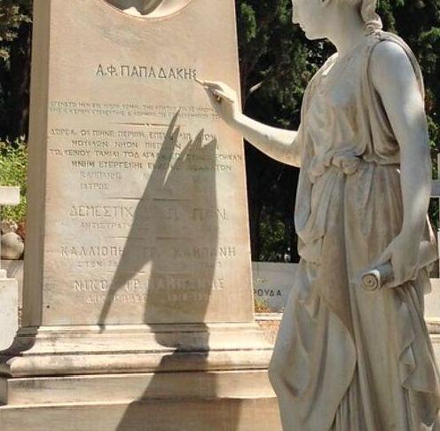 Οργή και αγανάκτηση για το ταφικό μνημείο Α. Φ. Παπαδάκη