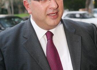 ο Υφυπουργός αγροτικής ανάπτυξης, Μιχάλης Παπαδόπουλος