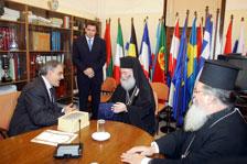 Πατριάρχης Αλεξανδρείας με τον Περιφερειάρχη