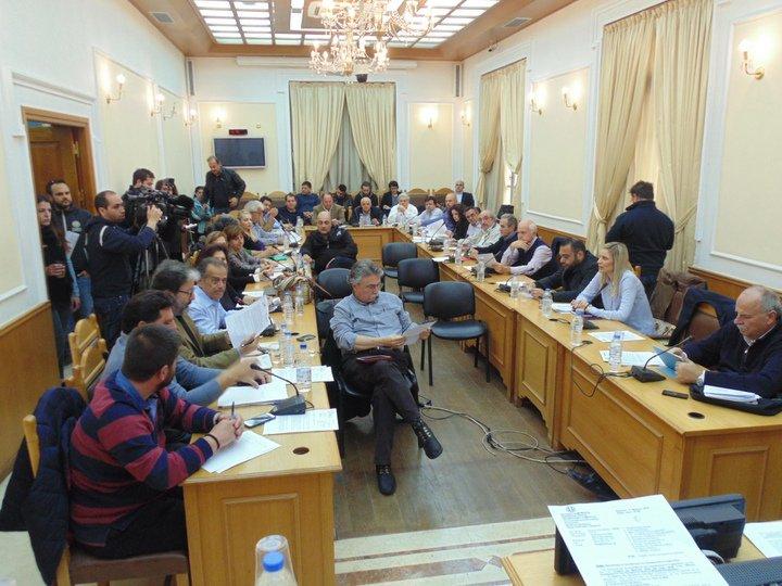 Περιφερειακό Συμβούλιο Κρήτης συνεδρίαση Πέμπτη 25 Ιανουαρίου 2018