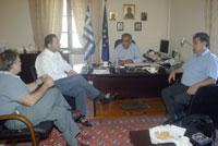 Πρόεδροι ΤΕΔΚ με Γενικό Γραμματέα